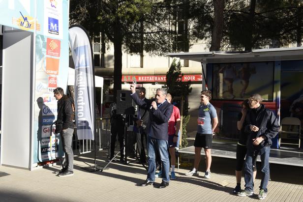 Le départ de l'édition 2017 du Marathon de Montpellier a été donné à 8h30 depuis la place du Nombre d'Or à Montpellier