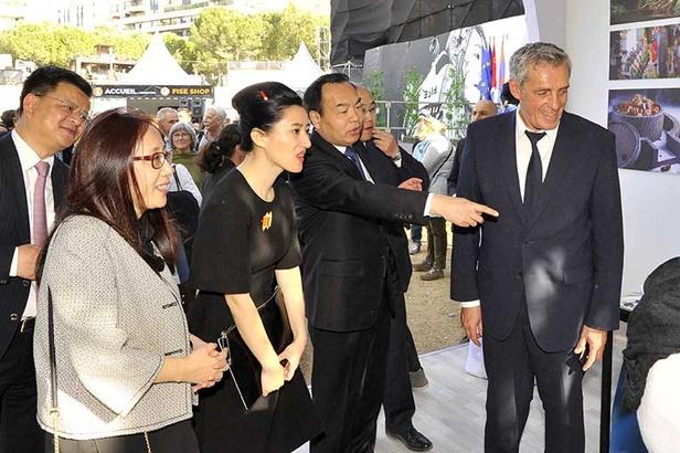 Sur le Fise 2016, Philippe Saurel a accueilli le Maire de Chengdu et une délégation, afin de renouveler les accords de jumelage entre les deux Villes.