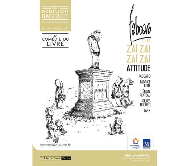 Exposition de Fabcaro à l'Espace Dominique Bagouet