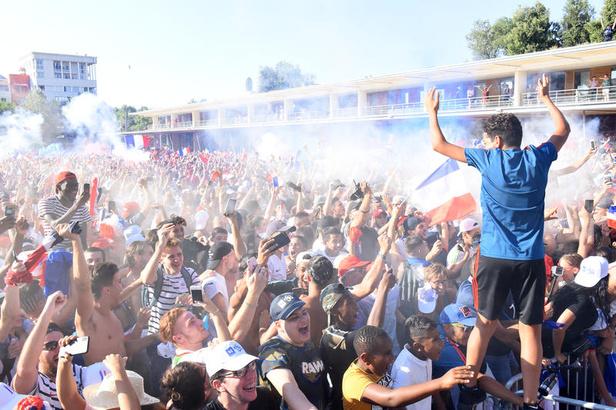 La France est championne du Monde ! Montpellier Vibre !