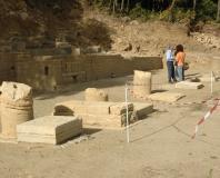 Murviel-les-Montpellier - zone des fouilles archéologiques