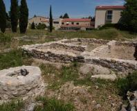 Lattes - fouilles de l'ancien site romain Lattara