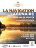 Affiche la navigation lagunaire