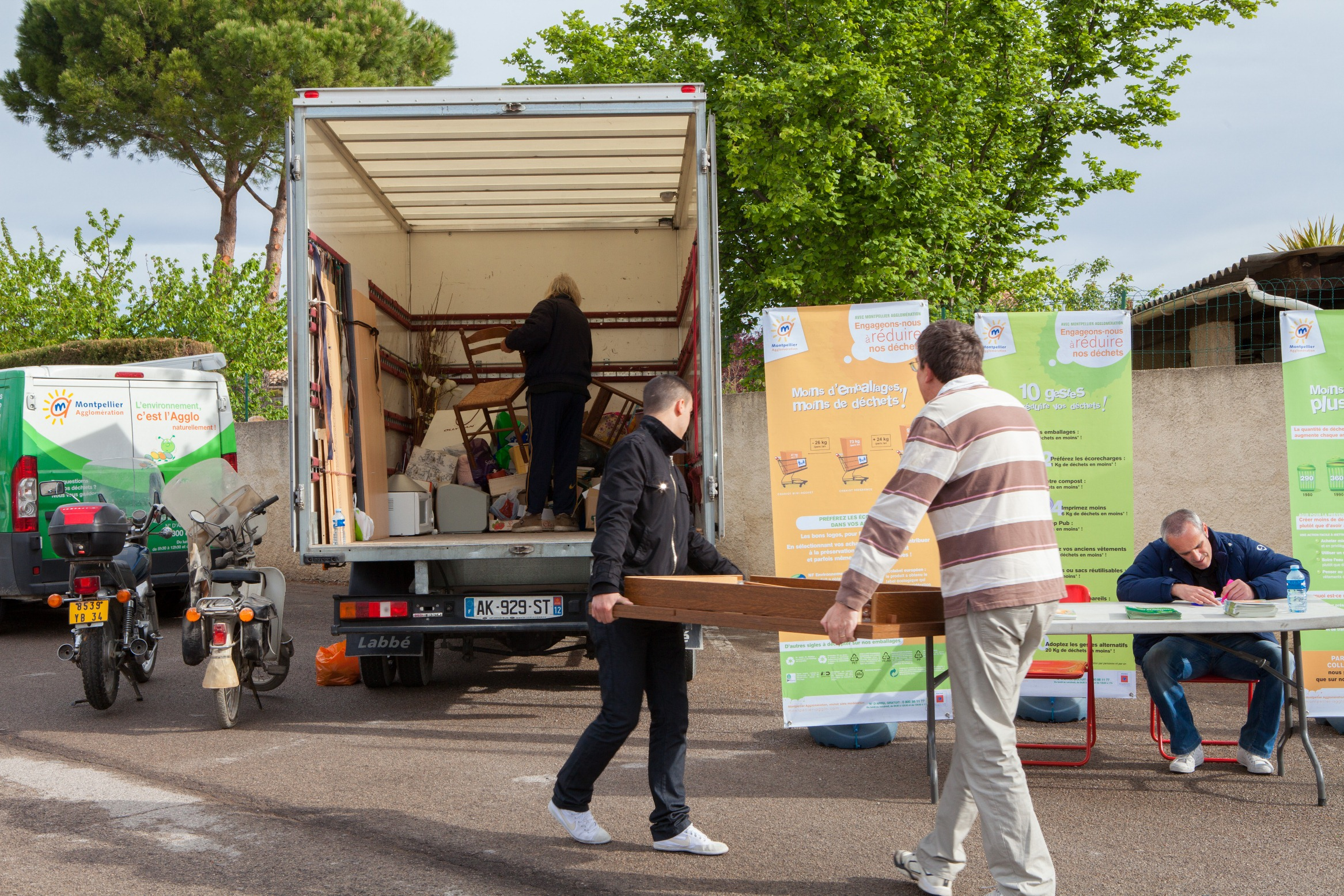 Montpellier Agglomération organise des régulièrement collectes solidaires