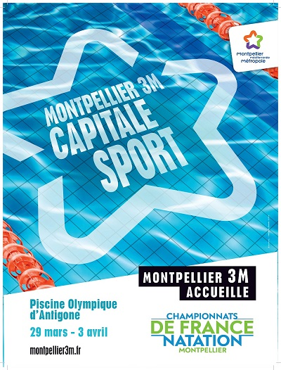 Championnats de france de natation montpellier for Piscine olympique montpellier