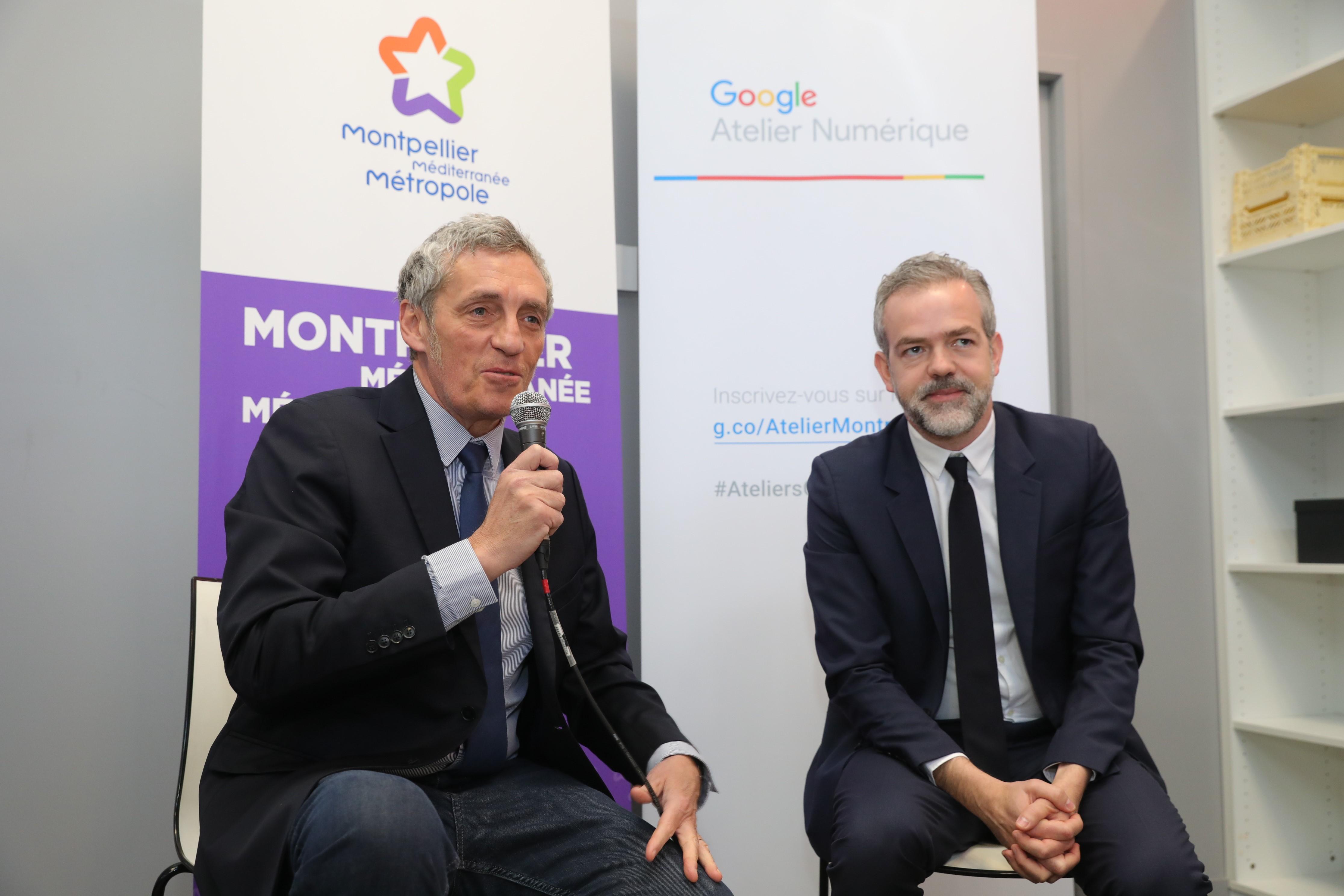 Philippe Saurel et Sébastien Missoffe
