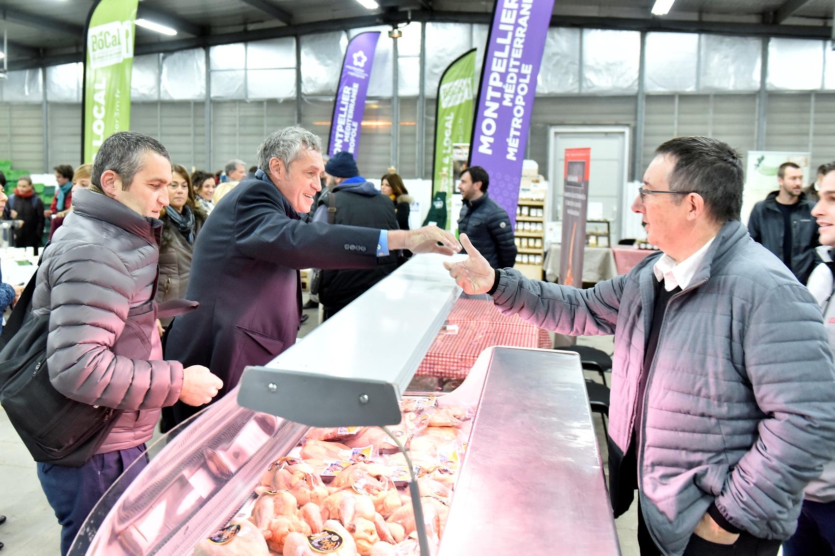 Le carreau des producteurs « Bio & Local » de Mercadis a été inauguré