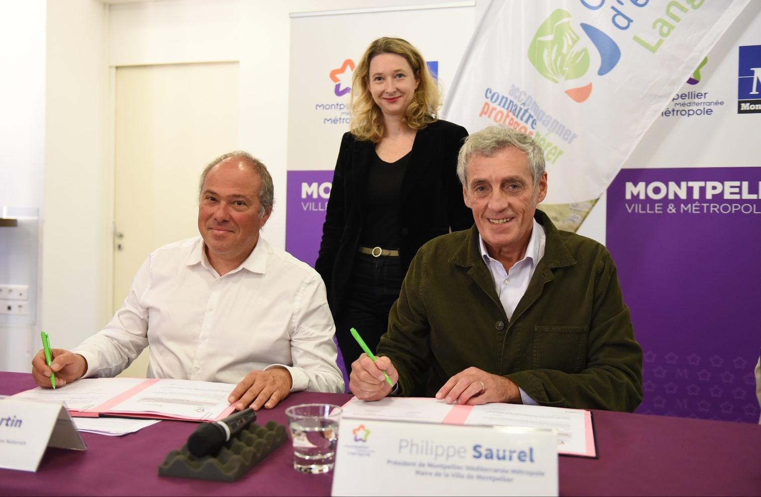 La Métropole signe une convention avec le Conservatoire d'Espaces Naturels