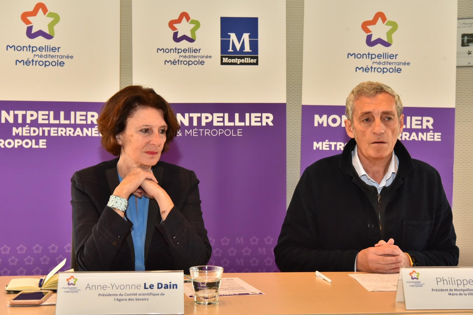 Anne-Yvonne Le Dain nouvelle présidente Agora des Savoirs