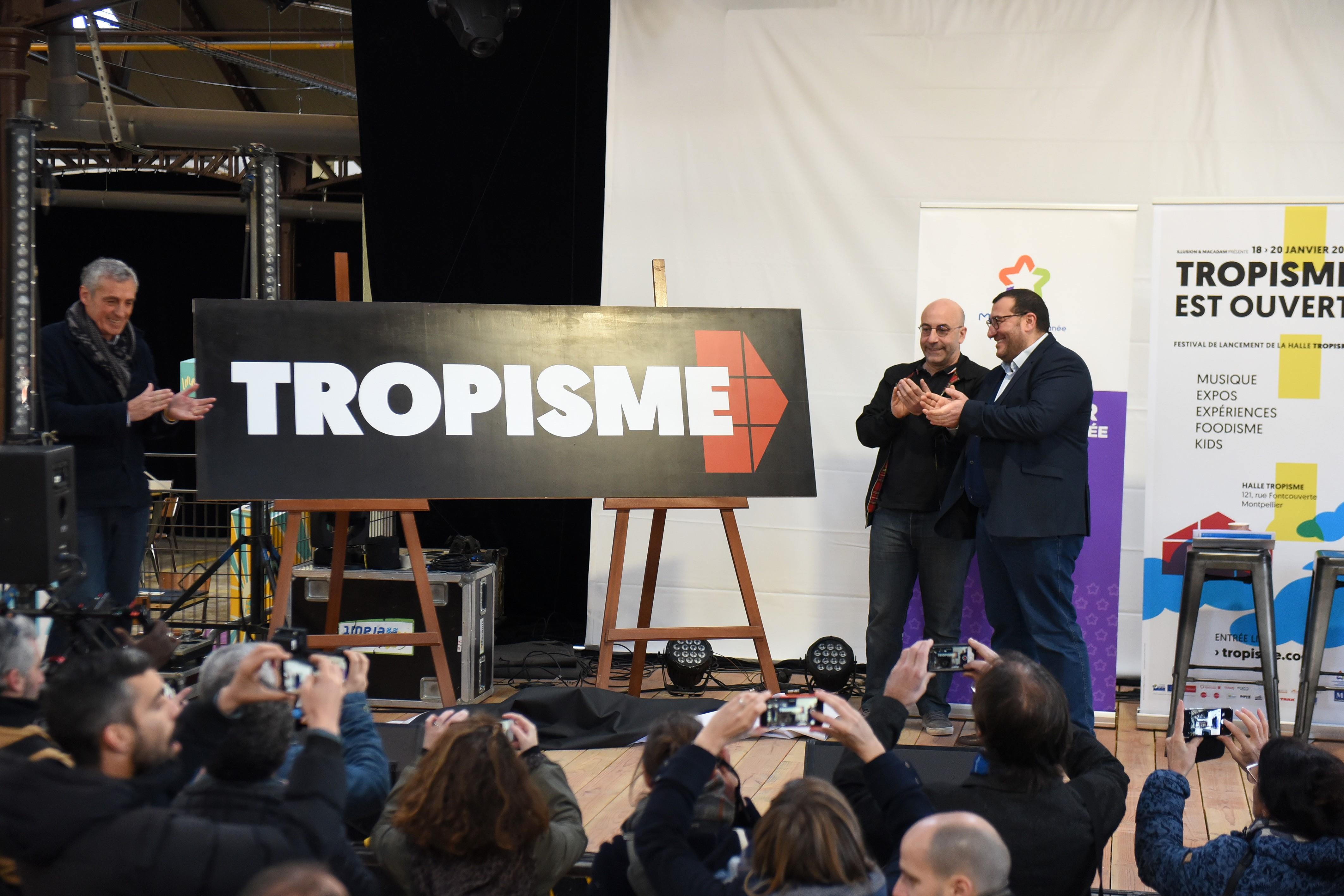 Inauguration de la Halle Tropisme