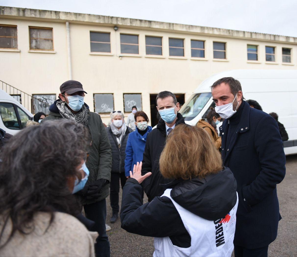 Michaël Delafosse et Jacques Witkowski à la rencontre des associations