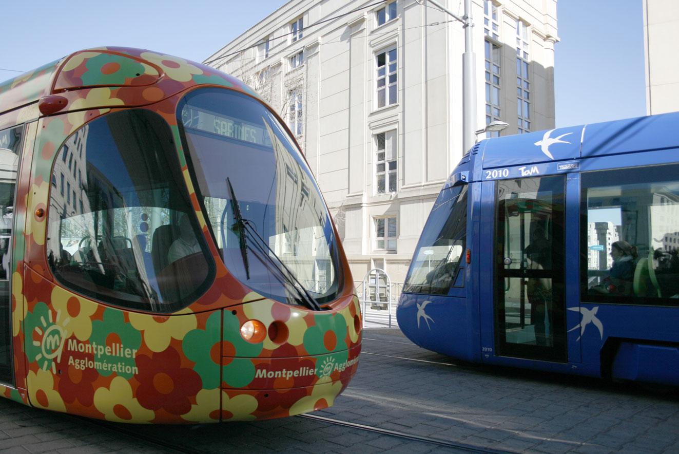 Les transports de Montpellier Méditerranée Métropole