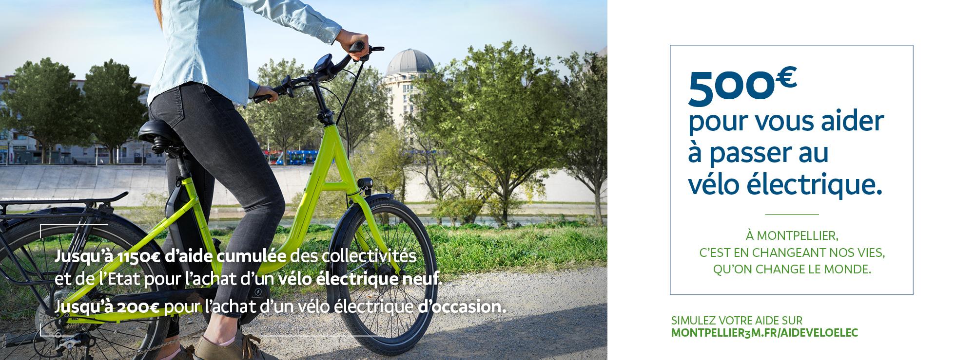 Jusqu'à 500€ d'aides pour l'aide à l'achat d'un vélo à assistance électrique